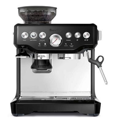 מכונת אספרסו ומטחנת פולי קפה Barista ExpressTM בגימור שחור תוצרת BREVILLE דגם BES875BKS