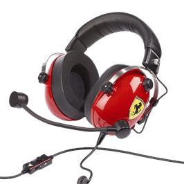 אוזניות סטריאו איכותיות לגיימרים מבית Thrustmaster דגם TM T.FLIGHT SCUDERIA FERRARI