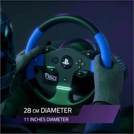 הגה מירוצים עם דוושות מבית Thrustmaster דגם T150 Pro Force Feedback