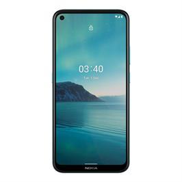 """סמארטפון 6.39"""" מבית Nokia המבוסס על מערכת הפעלה AndroidOne דגם NOKIA 3.4 TA-1288 DS BLUE"""