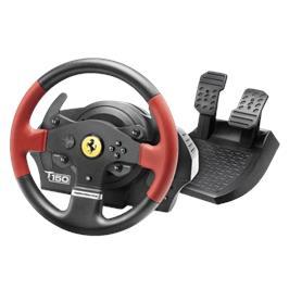 הגה מירוצים ל- PC/PS4/PS5 מבית Thrustmaster דגם T150 Ferrari FFB
