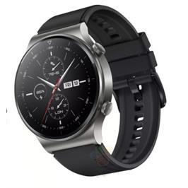 שעון ספורט חכם דק יוקרתי מבית Huawei דגם Huawei Smart Watch GT 2 PRO בצבע שחור