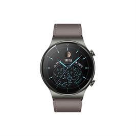 שעון ספורט חכם דק יוקרתי מבית Huawei דגם Huawei Smart Watch GT 2 PRO בצבע אפור