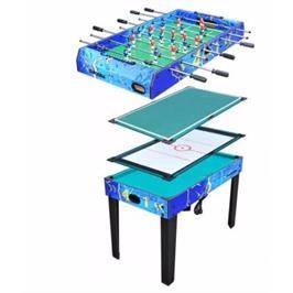 שולחן משולב 4 משחקים (הוקי / ביליארד / טניס / כדורגל) מבית CITYSPORT דגם 5932