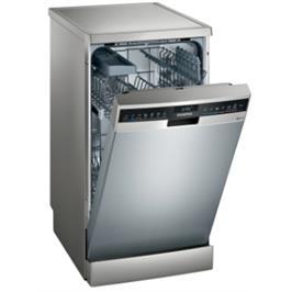 """מדיח כלים צר 45 ס""""מ דמוי נירוסטה 10 מערכות כלים אינטגרלי מלא iQ300 תוצרת SIEMENS דגם SR23HI48KE"""