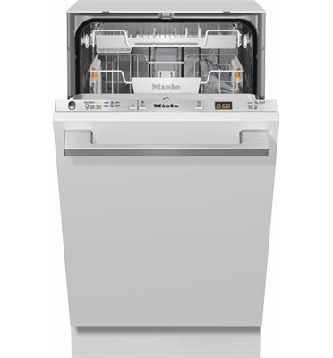 """מדיח כלים צר אינטגרלי 45 ס""""מ 9 מערכות הכלים תוצרת Miele דגם G5481SCVI"""