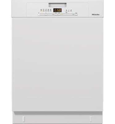 מדיח כלים עומד 13 מערכות הכלים בצבע לבן עם 3 מפלסים תוצרת Miele דגם G5000SCW