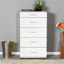 שידת מגירות בעיצוב נקי, פרקטי וניטראלי מבית HOMAX דגם פאי בשלושה צבעים לבחירה