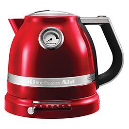 קומקום 1.5 ליטר דופן כפולה עם בקרת טמפרטורה תוצרת KITCHENAID דגם 5KEK1522ECA אדום תפוח