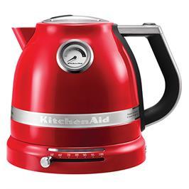 קומקום 1.5 ליטר דופן כפולה עם בקרת טמפרטורה תוצרת KITCHENAID דגם 5KEK1522EER אדום