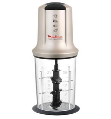 """קוצץ חשמלי הספק 500 וואט נפח קערה 800 מ""""ל תוצרת MOULINEX דגם AT718A10"""