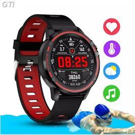 שעון ספורט חכם עם מד דופק, מד לחץ דם, מד צעדים, מדידת מרחק מבית GRANDTEC דגם 1moeme3
