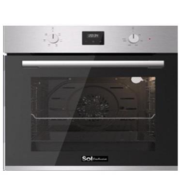 תנור בילד אין 72 ליטר ענק ללא תפרים מולטי סיסטם בעל 6 תוכניות תוצרת SOL דגם HO-6505
