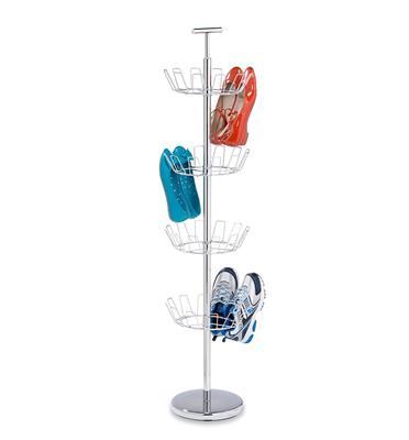 מתקן עומד 4 קומות לנעליים מניקל מבית HONEY CAN DO דגם SHO-01483