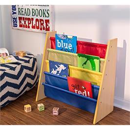 """ארגונית לספרים גימור צבע עץ מבית HONEY CAN DO ארה""""ב דגם SHF-05077"""