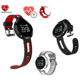 שעון ספורט חכם המתחבר לסמארטפון באמצעות Bluetooth מבית GRANDTEC דגם fdssd