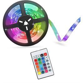 ערכת פס לדים צבעונית RGB כולל שלט רחוק GRANTEC דגם LEDYO21 באורך 5/10/15/20 לבחירה
