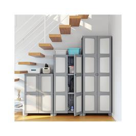 ארון שירות גבוה מודולייז מבית כתר פלסטיק דגם MODULIZE TALL