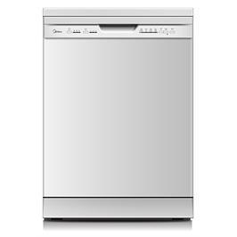 מדיח כלים רחב 12 מערכות כלים בגימור לבן תוצרת Midea דגם WQP12-5203