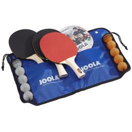 סט לטניס שולחן 4 מחבטים + 10 כדורים מבית JOOLA גרמניה דגם Family