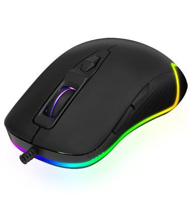 עכבר גיימינג אופטי לאחיזה משדרגת משחק בעיצוב RAINBOW דגם GM-406G מבית XTRIKE ME