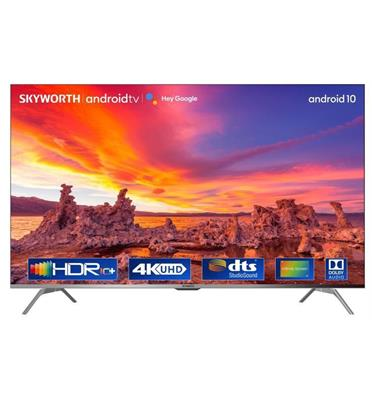 """טלוויזיה 55"""" מסגרת שחורה דקה 4K Smart AI TV אנדרואיד 10 תוצרת SKYWORTH דגם 55SUC8300"""