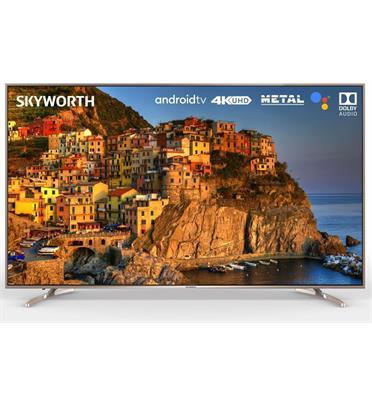 """טלוויזיה 75"""" מסגרת שחורה דקה 4K Smart AI TV אנדרואיד 10 תוצרת SKYWORTH דגם 75SUC8100"""