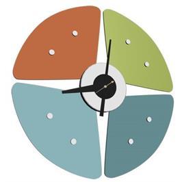 שעון קיר מעוצב ומיוחד מבית BRADEX דגם PETAL