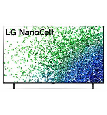 טלוויזיית 55 אינץ' LED חכמה Smart TV ברזולוציית 4K Ultra HD ופאנל IPS בטכנולוגיית Nano Cell לתמונה עוצרת נשימה LG דגם 55NANO80VPA