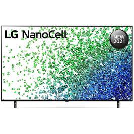 טלוויזיית 50 אינץ' LED חכמה Smart TV ברזולוציית 4K Ultra HD ופאנל IPS בטכנולוגיית Nano Cell לתמונה עוצרת נשימה LG דגם 50NANO80VPA