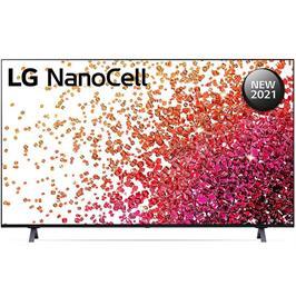 טלוויזיית 75 אינץ' LED חכמה Smart TV ברזולוציית 4K Ultra HD ופאנל LED 4K בטכנולוגיית Nano Cell לתמונה עוצרת נשימה LG דגם 75NANO75VPA
