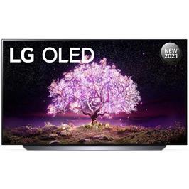 טלוויזיה 55 אינץ' בטכנולוגיית OLED, ברזולוציית 4K Ultra HD עם ניגודיות אינסופית,HDR ובינה מלאכותית LG דגם OLED55C1PVB