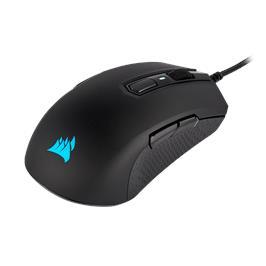עכבר גיימינג מבית CORSAIR דגם M55 RGB PRO