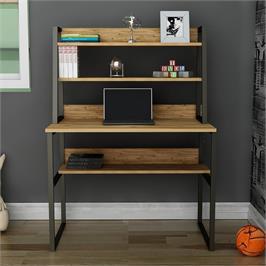 עמדת עבודה עם שולחן כתיבה וספרייה Tudo Design דגם סיון