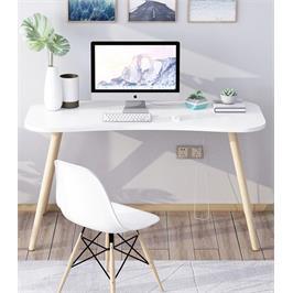 שולחן סטודנט מדליק בגוון לבן מבית Tudo Design דגם אופיר