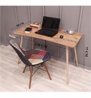 שולחן סטודנט מדליק בגוון אורן אטלנטי מבית Tudo Design דגם אופיר