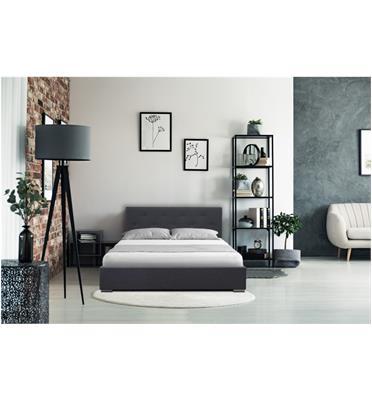 מיטה זוגית מדהימה ביופייה מבית פנדה סטייל דגם DARIA בצבע אפור כהה