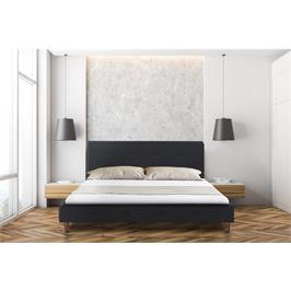 מיטה זוגית מדהימה ביופייה בד רחיץ מבית פנדה סטייל דגם JENNY בצבע אפור