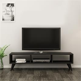 מזנון טלוויזיה בצבע שחור לילה Tudo Design דגם Luna