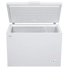 מקפיא שוכב 300 ליטר DEFROST לבן תוצרת TCL דגם TCF300YW