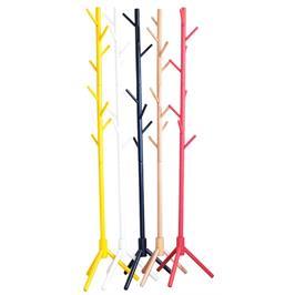 מעמד מתלה בגדים ומעילים מעץ מלא במגוון צבעים לבחירה TUDO DESIGN דגם 1201