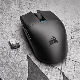 עכבר גיימינג אלחוטי מבית CORSAIR דגם KATAR PRO שחור