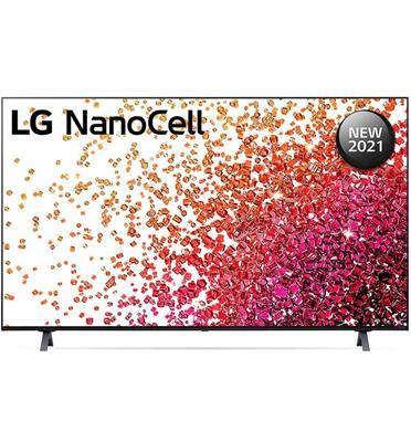 טלוויזיית 55 אינץ' LED חכמה Smart TV ברזולוציית 4K Ultra HD ופאנל LED 4K בטכנולוגיית Nano Cell לתמונה עוצרת נשימה LG דגם 55NANO75VPA