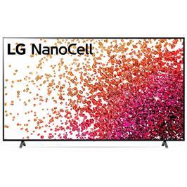 טלוויזיית 86 אינץ' LED חכמה Smart TV ברזולוציית 4K Ultra HD ופאנל LED 4K בטכנולוגיית NanoCell לתמונה עוצרת נשימה LG דגם 86NANO75VPA