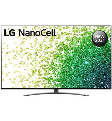 טלוויזיית 55 אינץ' LED חכמה Smart TV ברזולוציית 4K Ultra HD ופאנל IPS בטכנולוגיית NanoCell לתמונה עוצרת נשימה LG דגם 55NANO86VPA