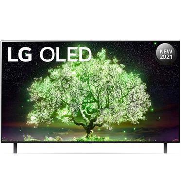 טלוויזיה 55 אינץ' בטכנולוגיית OLED, ברזולוציית 4K Ultra HD עם ניגודיות אינסופית,HDR ובינה מלאכותיתLG דגם OLED55A1