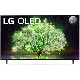 טלוויזיה 65 אינץ' בטכנולוגיית OLED, ברזולוציית 4K Ultra HD עם ניגודיות אינסופית,HDR ובינה מלאכותית LG דגם OLED65A1