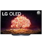 טלוויזיה 65 אינץ' בטכנולוגיית OLED, ברזולוציית 4K Ultra HD עם ניגודיות אינסופית,HDR ובינה מלאכותית LG דגם OLED65B1PVA