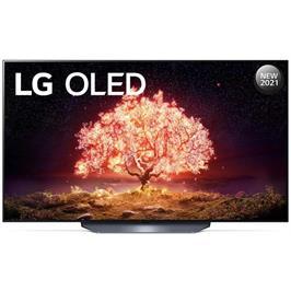 טלוויזיה 77 אינץ' בטכנולוגיית OLED, ברזולוציית 4K Ultra HD עם ניגודיות אינסופית,HDR ובינה מלאכותית LG דגם OLED77B1PVA