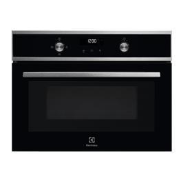 """תנור מיקרוגל משולב גריל 45 ס""""מ Borderless Design בילט אין תוצרת Electrolux דגם EVK6E40X"""
